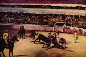 Bullfight by Edouard Manet