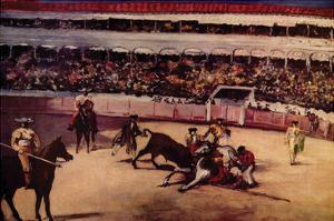 Bullfight by Edouard Manet