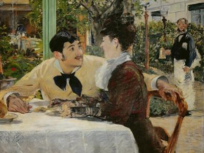 Chez le Pere Lathuille (At Pere Lathuille's) by Edouard Manet