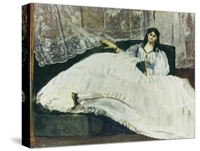 Dame Mit Faecher (La Maitresse De Baudelaire), 1863