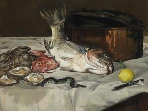 Fish (Still Life), 1864 by Edouard Manet