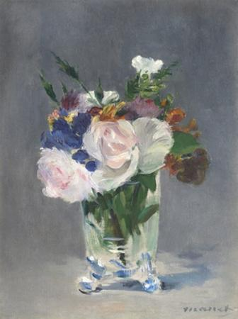 Flowers in a Crystal Vase, 1882 by Edouard Manet