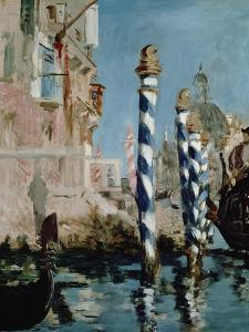 Grand Canal, Venice, 1875 by Edouard Manet