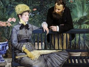 In the Winter Garden, 1879 by Edouard Manet