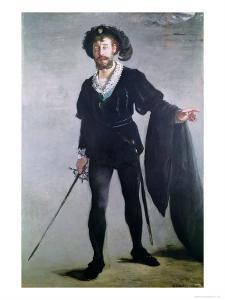 Jean Baptiste Faure (1830-1914) as Hamlet, 1877 by Edouard Manet