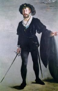 Jean Baptiste Faure (1830-1914) as Hamlet, 1877 by Edouard Manet