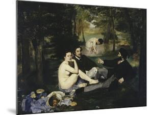 Le Dejeuner Sur l'Herbe, c.1863 by Edouard Manet