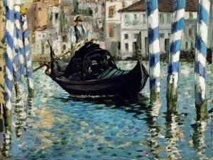 Le Grand Canal, Venise (Venise bleu) by Edouard Manet