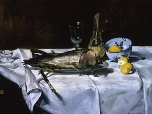 Le Saumon, c.1864 by Edouard Manet