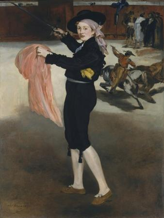 Mademoiselle V. . . in the Costume of an Espada, 1862 by Edouard Manet