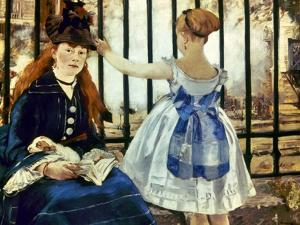 Manet: Gare St Lazare, 1873 by Edouard Manet