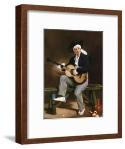 Manet: Guitarero by Edouard Manet