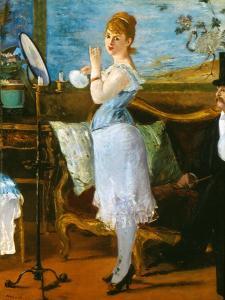 Manet: Nana, 1877 by Edouard Manet