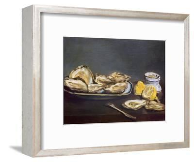 Manet: Oysters, 1862