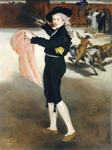 Mlle Victorine Meurent in the Costume of an Espada, 1862 by Edouard Manet