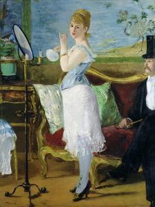 Nana, 1877 by Edouard Manet