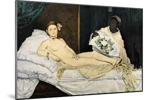 Olympia, 1863 by Edouard Manet