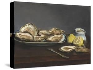 Oysters, 1862 by Edouard Manet