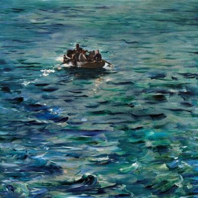 Rochefort's Escape by Edouard Manet