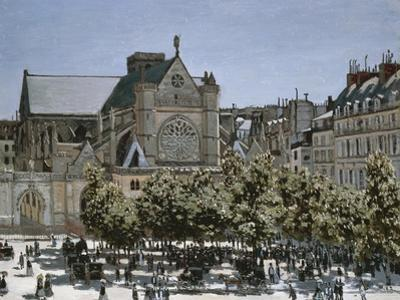 Saint-Germain-L'Auxerrois Church, Paris, 1866 by Edouard Manet