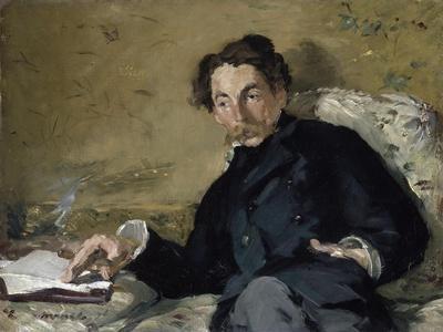 Stéphane Mallarmé by ‰Douard Manet