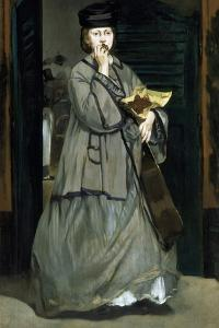 Street Singer by ‰Douard Manet by Édouard Manet