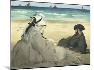 Sur la plage by Edouard Manet