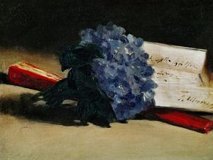 The Bunch of Violets, 1872 by Edouard Manet