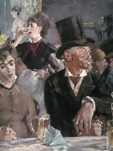 The Cafe Concert by Edouard Manet