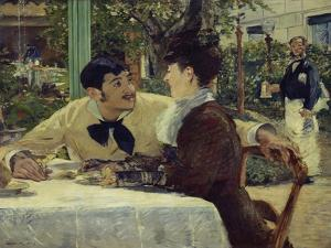 The Couple of Pere Lathuille, 1879 by Edouard Manet