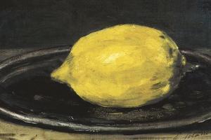 The Lemon (Le Citron) by Edouard Manet