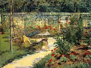 The Painter's Garden, 1881 by Edouard Manet