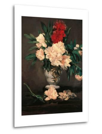 Vase with Peonies on a Pedestal