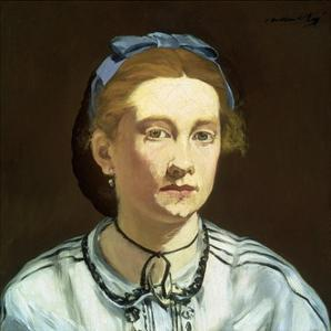 Victorine Meurent by ‰Douard Manet by Édouard Manet