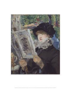 Woman Reading, 1879/80 by Edouard Manet