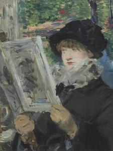 Woman Reading, 1879-80 by Edouard Manet