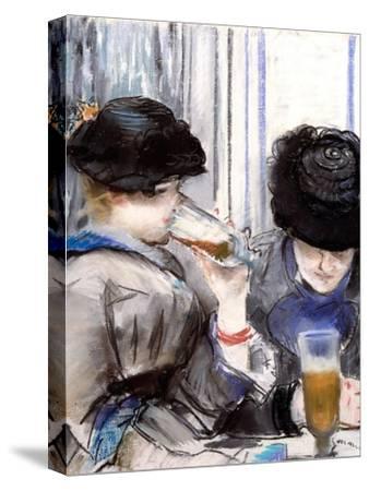 Women Drinking Beer, 1878