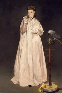 Young Lady in 1866, 1866 by Edouard Manet