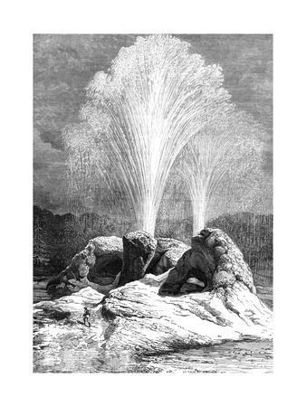 A Geyser, USA, 19th Century