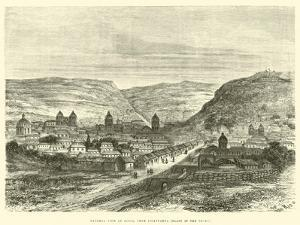General View of Cuzco, from Iscaypampa, Plain of the Thorn by Édouard Riou