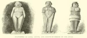 Statuettes of Gold, Silver, And, Electrum, Period of the Incas by Édouard Riou
