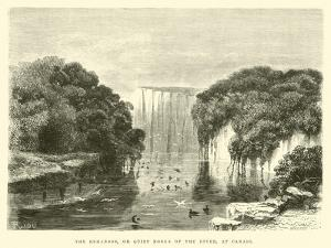 The Remansos, or Quiet Nooks of the River, at Canari by Édouard Riou