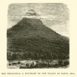 The Urusayhua, a Mountain in the Valley of Santa Ana by Édouard Riou