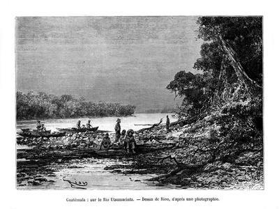 The Usumacinta River, Southeastern Mexico and Northwestern Guatemala, 19th Century
