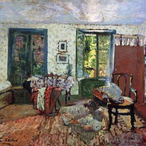 Annette in an Interior by Edouard		 Vuillard