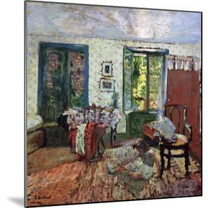Annette in an Interior by Edouard Vuillard