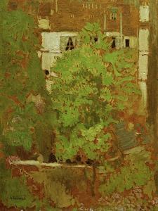 Chestnut Trees in Rue Truffaut (in the 17th Arrondissement in Paris), c.1900 by Edouard Vuillard