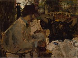 Conversation, 1897-8 by Edouard Vuillard