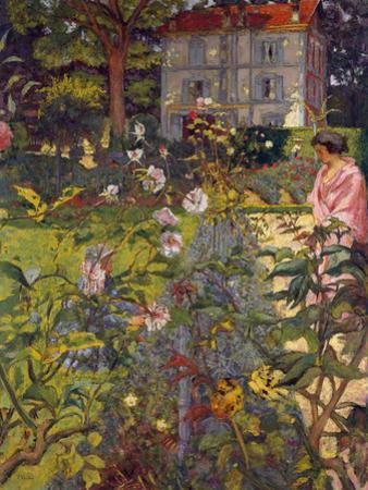 Garden at Vaucresson, 1920 by Edouard Vuillard