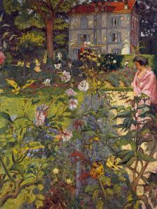 Garden at Vaucresson, 1920 by Edouard Vuillard